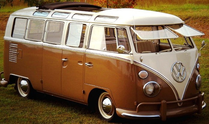 VW Transporter with sunroof