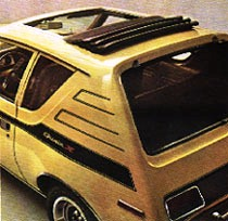 '72 AMC Gremlin X with sunroof