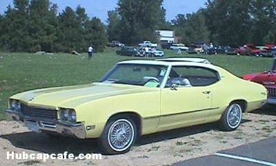 '72 Buick Skylark Sun Coupe yellow