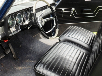 Desiree Koller '64 Daytona interior 2